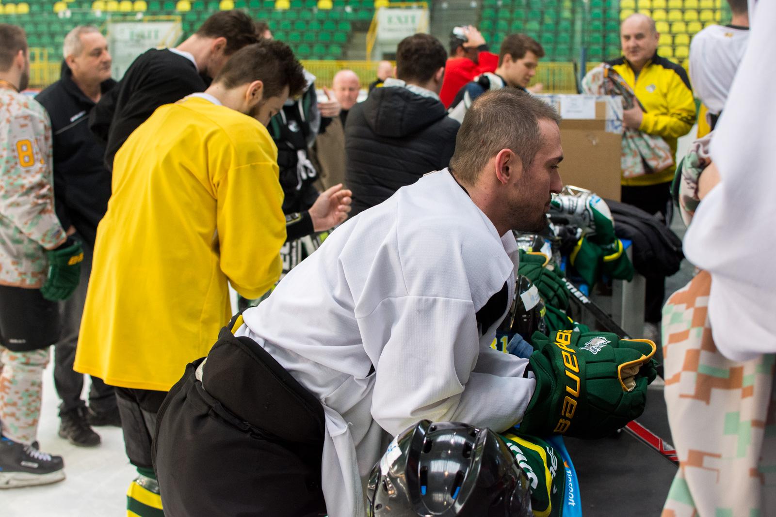 Fotenie hokejistov